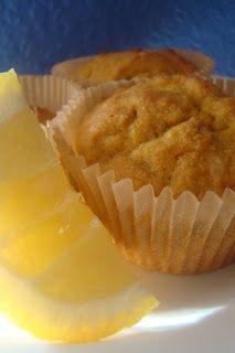 Lemon Coconut Muffins (grain-free : GAPS : primal : gluten-free)