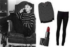 Audrey Hepburn style!  #AudreyHemburn #fashion