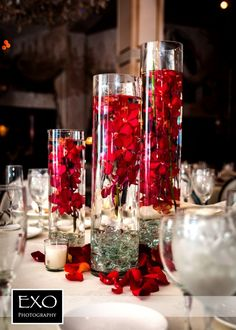 And Elegant Ideas With The Application Of Simple Wedding Centerpieces ...