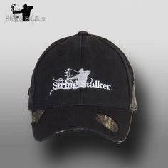 String Stalker Frayed Camo Bow Hunting Hat 2b69dc8c5476