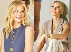 gwyneth paltrow 2016 images | Colección Tous primavera verano 2016 con muchas joyas y complementos ... Gwyneth Paltrow, Muslim, Fashion Sets, Hair, Club, Outfits, Stars, Jewelry, Dresses