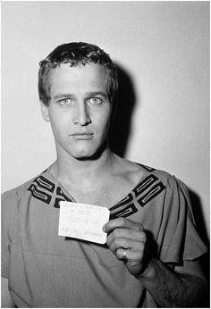 El cáliz de plata (1954), Paul Newman