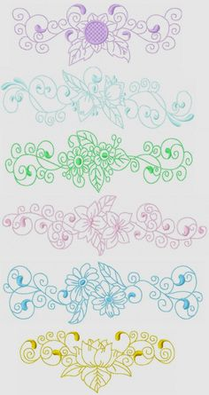 Floral Pillowslips 1