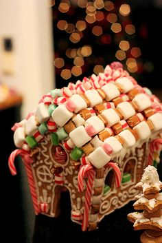I'm entering E. in a gingerbread house festival...  What timing to find this. :0)