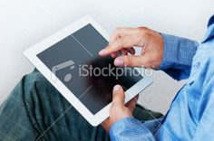 21095051 Tablet computer with blank screen Royalty Free Stock Photo $12.00