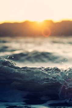 Cool photography. Water. Sunset. Superb.