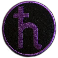 Sailor Saturn Symbol Patch ($4.62) ❤ liked on Polyvore featuring accessories, sailor moon, fillers, patches e badge