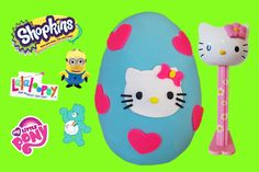 Toy Box Magic! Giant Hello Kitty Play Doh Egg Surprise with Shopkins, blind bags, lalaloopsy, carebears, minions, Disney Frozen, My Little Pony (MLP) and even a Giant Hello Kitty Pez Dispenser!  Subscribe to our ♥awesome♥ channel here: https://www.youtube.com/toyboxmagic  https://youtu.be/HvPa6sUXDPk TMNT Mashems Series 2 Teenage Mutant Ninja Turtles Mashems Toy Box Magic http://youtu.be/q6nVBHYa4u8  LPS 2015 McDonalds Happy Meal Toys Littlest Pet Shop Toy Box Magic…