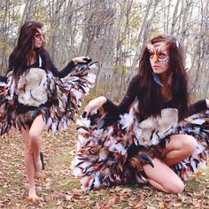 How to make an Owl Costume from Instructables