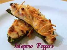 Healthy take on Jalapeno Poppers. WLS Meal. WLS Recipe.