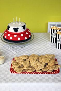 Gâteau anniversaire Minnie
