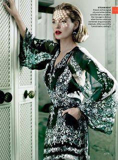 IMG 0488 Vogue US Dezembro 2013   Kate Moss e Chiwetel Ejiofor por Mario Testino  [Editorial]