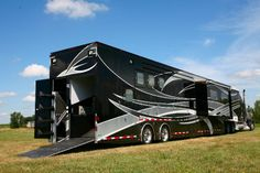I will take it!  A fabulous, luxury horse trailer with living quarters.  Incredible...