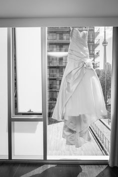 Cn Tower, Frocks, One Shoulder Wedding Dress, Events, Gowns, Wedding Dresses, Beautiful, Fashion, Happenings
