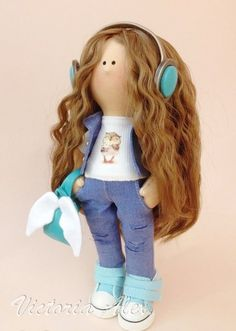 ღVictoria Alexღ Интерьерные куклы ручной работыღ
