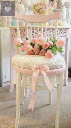 Painted Furniture ~  PINK