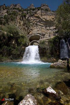 Lebanon, Afka waterfall (LB) by Khaled Merheb, via Flickr
