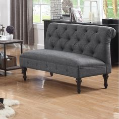 Shop Ophelia & Co. at Birch Lane for a classic selection and the best prices. Slipcovered Sofa, Gray Sofa, Furniture, Love Seat, Leather Sofa, Couch Set, Furniture Making, Small Sitting Rooms, Upholstery