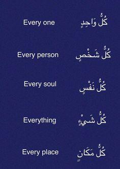 Learning Arabic MSA (Fabienne) #apprendreanglais