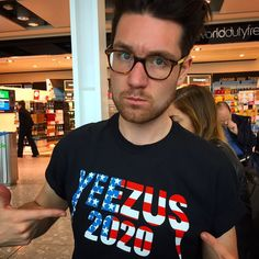 Love it<<it's funny because his name is Dan and he's British and then danisnotonfire'so name is Dan And he's British and they both have yeezus shirts Amazing Songs, Best Songs, Yeezus Shirt, Dan Smith, Bastille, Most Beautiful Man, No One Loves Me, Man Crush, Music Bands