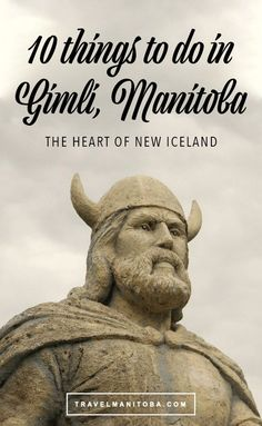 Ten things to do in Gimli, Manitoba: the heart of New Iceland Viking Art, Viking Woman, Sailing Lessons, Voyage Canada, Canadian Things, Lake Side, Small Lake, After Life, Norse Mythology