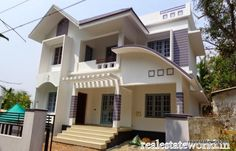 House in 5 cent 1800 sqft. 4 BHK for sale near Chottanikkara, Tripunithura.Semi furnished house has porch, sitout, visiting and dining, 4 bath attached bedroom,   http://realestateworld.in/