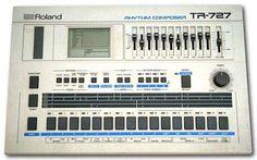 Roland run it threw a fuzz box instant tekno Vintage Synth, Vintage Drums, Vintage Keys, Music Recording Studio, Home Studio Music, Music Machine, Drum Machine, Detroit Techno, Music