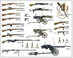 Soviet Infantry Weapons of WW2