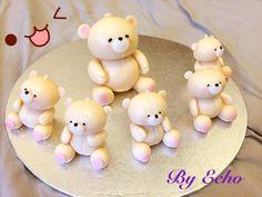 forever friend bear cake topping