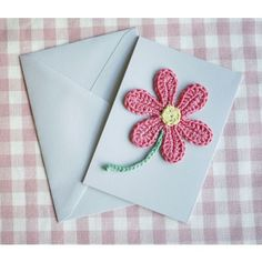 FREE Mother's Day Card - Crochet Pattern