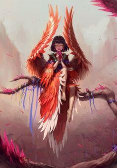 anime fantasy - scifi-fantasy-horror: by ok jae lee Anime Fantasy, Fantasy Kunst, Fantasy Makeup, Dark Fantasy, Fantasy Hair, Final Fantasy, Fantasy Character Design, Character Inspiration, Character Art