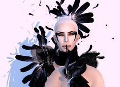 """Check out the Second Life Pic of the Day, """"MVW Avantgarde Styling"""", photo by Winter Jefferson. Don't forget to check out Second Life on Tumblr, Facebook and Google Plus!"""