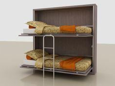 doppio letto a scomparsa con armadio