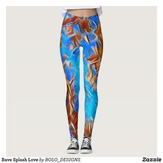 Rave Splash Love Leggings