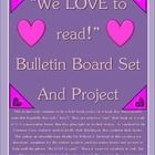 "This bulletin board/project asks students to do a brief book review on a book they have recently read that hopefully they truly ""love""!  They are asked to ""..."