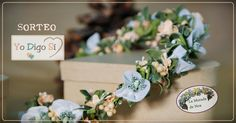 Foto de Yo digo Sí #diadema #corona #tocado #evento #boda #comunion #novia #invitada #flores #moda #diademadeflores #coronadeflores #complementos #peinado #lamoradadenoa