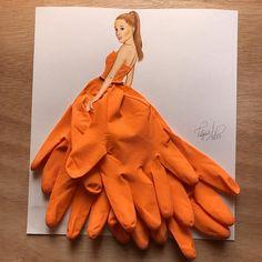Fashion Design Sketches 810577632912606958 - – Illustrations by Edgar_artis ♥ ♥ Source by Arte Fashion, 3d Fashion, Gloves Fashion, Fashion 2018, Fashion Rings, Fashion Outfits, Fashion Design Drawings, Fashion Sketches, Fashion Illustrations