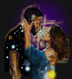 True love does not hurt. love art The Purple Crown Project – True Love Does Not Hurt Black Couple Art, Black Girl Art, Black Couples, Black Women Art, Art Girl, Black Love Artwork, Black Art Painting, Black Art Pictures, Love Painting