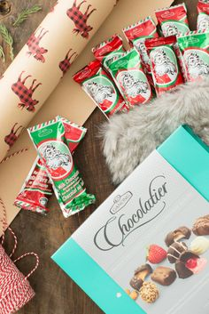 Give the gift of Ganong this holiday season! Order your festive favourites by emailing us at mailorder@ganong.com or calling us toll-free at 1-888-598-8811. Holiday Gifts, Festive, Gift Wrapping, Seasons, Candy, Chocolate, Free, Xmas Gifts, Gift Wrapping Paper