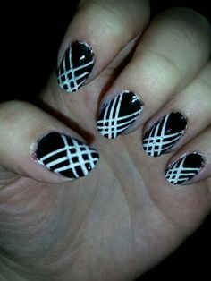 first try with striping tape