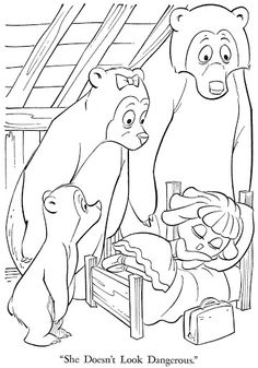 Coloring Book~PEEPUL PALS - Bonnie Jones - Álbumes web de Picasa Colouring Pages, Coloring Sheets, Coloring Books, Kids Food Crafts, Goldilocks And The Three Bears, 3 Bears, Bear Crafts, Rainy Day Activities, Stories For Kids