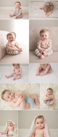 Handsome 8 Month Old | Raleigh Baby Photography | Be True Baby