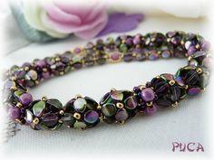 pinch bead flowers