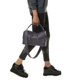 Fendi Lei Selleria Shoulder Bag Grey | Harrods