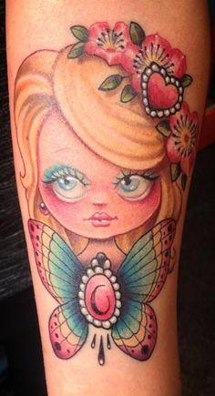 Tattoo by Candy Cane @ Desperado Tattoo