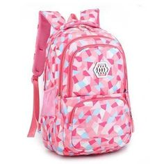 Fashion Girl School Bag Waterproof Light Weight Girls Backpack bags printing backpack for children Cute Backpacks, Girl Backpacks, School Backpacks, School Bags For Sale, School Bags For Girls, Girls Bags, Nylons, Fashion Bags, Fashion Backpack