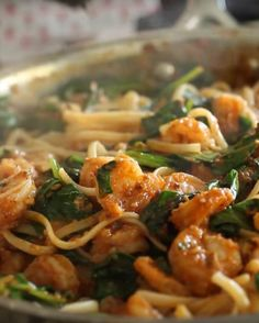 Linguine with Shrimp Recipe
