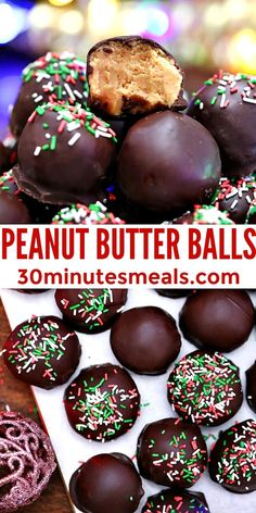 Nut Recipes, Peanut Butter Recipes, Candy Recipes, Holiday Recipes, Dessert Recipes, Holiday Treats, Cupcake Recipes, Christmas Recipes, Dessert Ideas