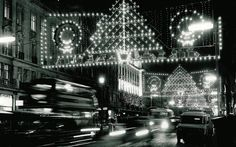 As they prepare to light up Regent Street this year, we look at some of the   spectacular displays we've seen over the last 55 years