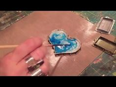 Creating Color and Movement with ICE Resin and  Ranger Alcohol inks - YouTube